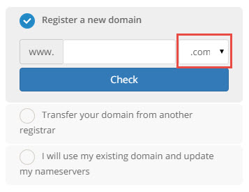 TLD Dropdown Menu not working with mobile browsers - Using