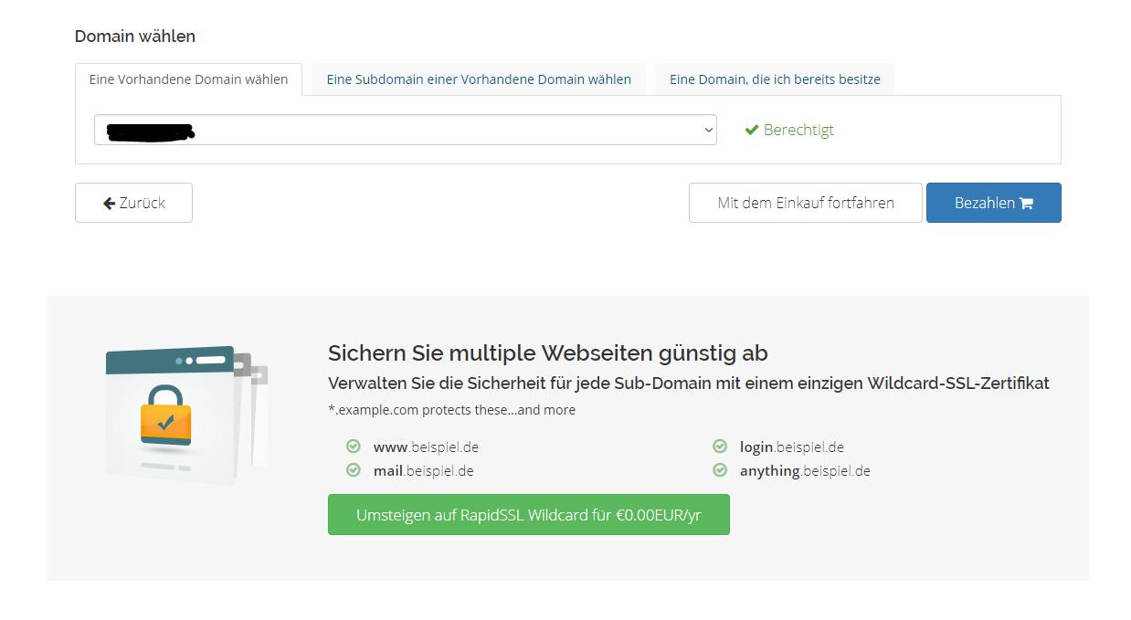 Wunderbar Einkauf SSL Zertifikat Bilder - zertifizierungsstelle ...